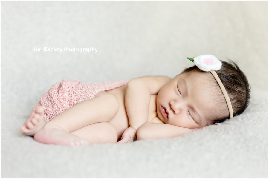 KerriDickey Photography Newborn Sleeping