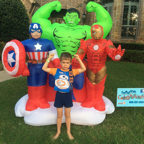 Super Hero inflatables